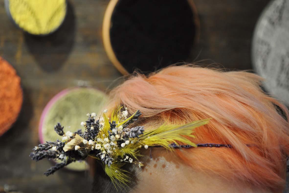 Debbie Bryan Floral Headdress