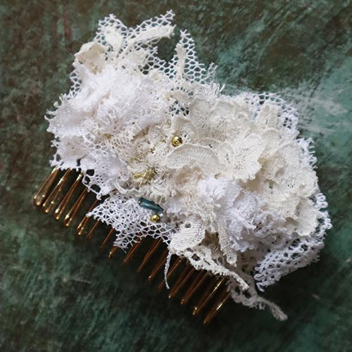 Nottingham Lace Applique Crafternoon