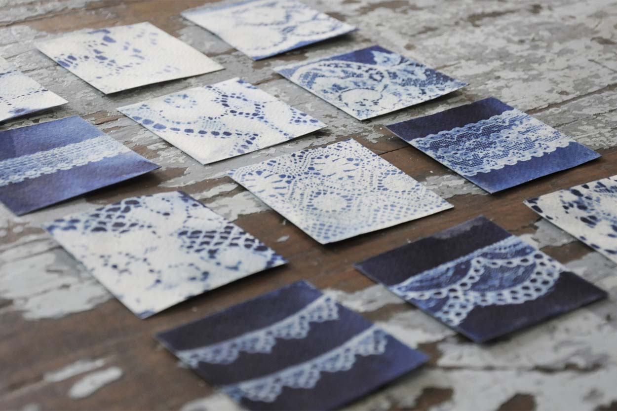 CYANOTYPE & MIXED MEDIA PRINTMAKING, FROM £40