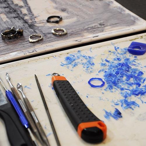 Debbie Bryan Crafternoons ring making