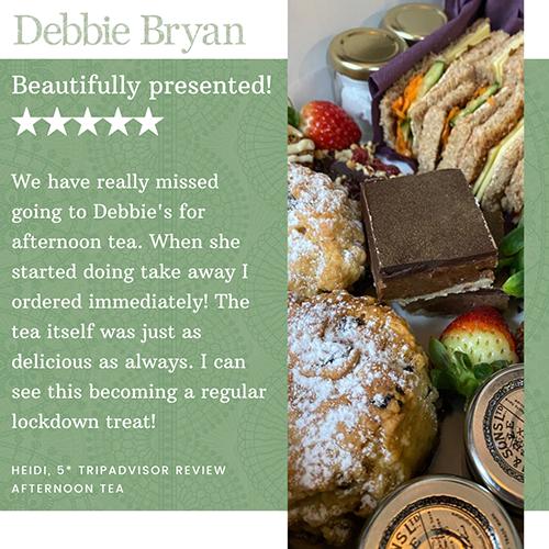 Debbie Bryan Afternoon Tea at Home review