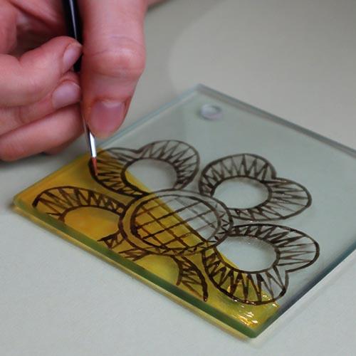 Debbie Bryan Glass Painting Kit