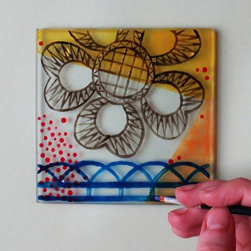 Debbie Bryan Glass Painting Craft Kit