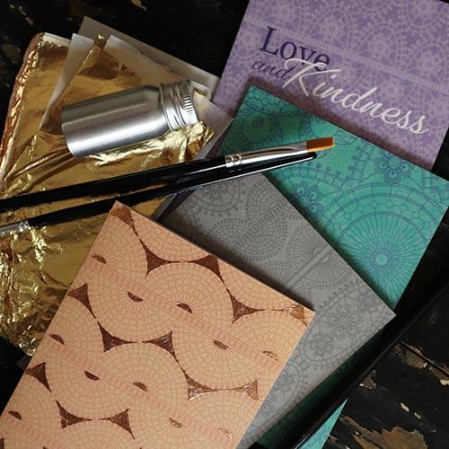 Debbie Bryan Gold Leaf Craft Kit