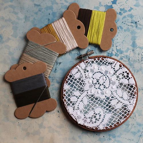 Debbie Bryan Nottingham Lace Embroidery Kit