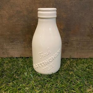 Debbie Bryan Fresh Nottingham Milk Bottle