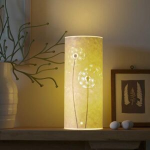 Hannah Nunn Dandelion Clock Table Lamp