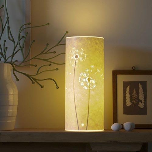 Hannah Nunn Dandelion Clock Table Lamp