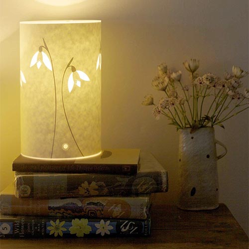 Hannah Nunn Mini Snowdrop Table Lamp