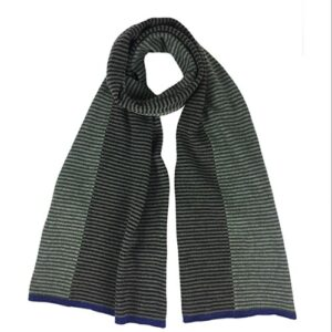 Katie Mawson Striped Lambs Wool Scarf