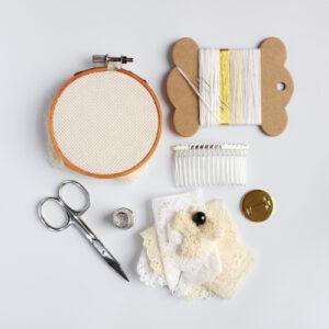 Nottingham Lace Appliqué Craft Kit