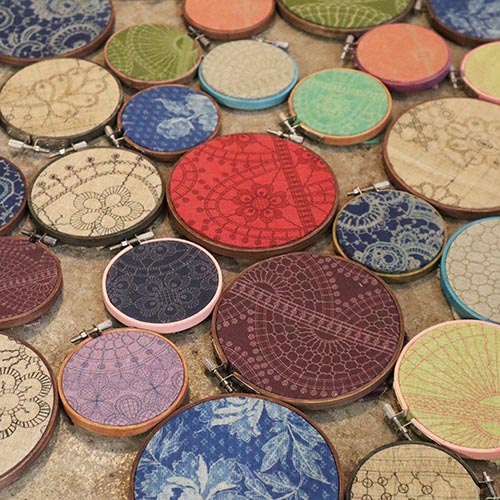 Nottingham Heritage Embroidery Crafternoon