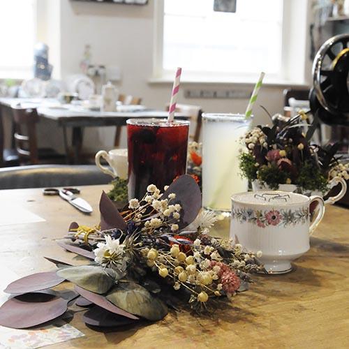 Teacup Floristry Crafternoon Debbie Bryan