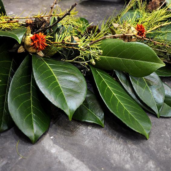Wreath Making Fresh Flowers
