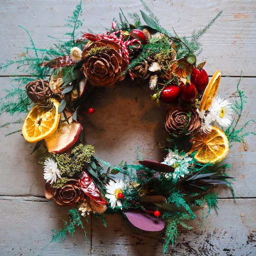 Festive Wreath Making Crafternoon