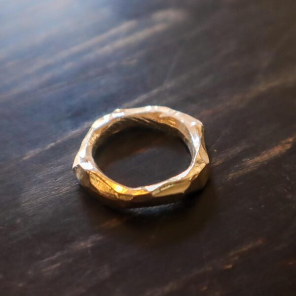 ring, silver